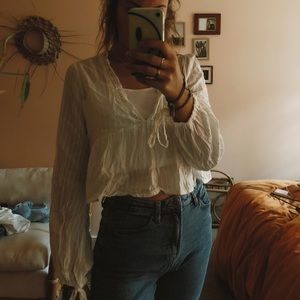 urban outfitters flowy shirt